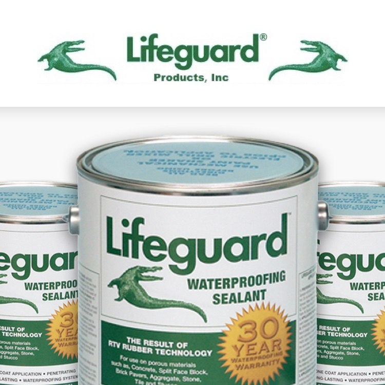 Lifeguard Products, Inc. waterproof sealant cans